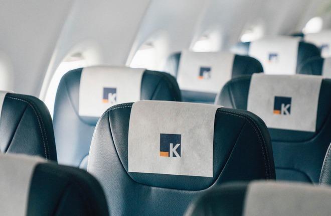 салон самолета лоукостера Aero-K из Южной Кореи