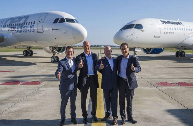 Партнерство Airbus и Bombardier, шутливо прозванное AirBomb, действительно стало информационной бомбой в отрасли гражданской авиации :: Airbus