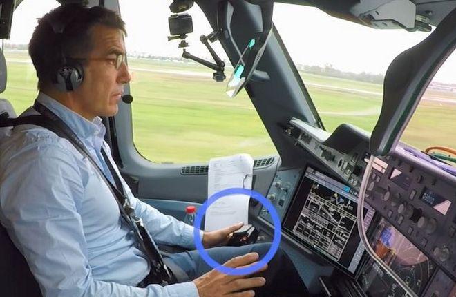 Пилот самолета A350-1000