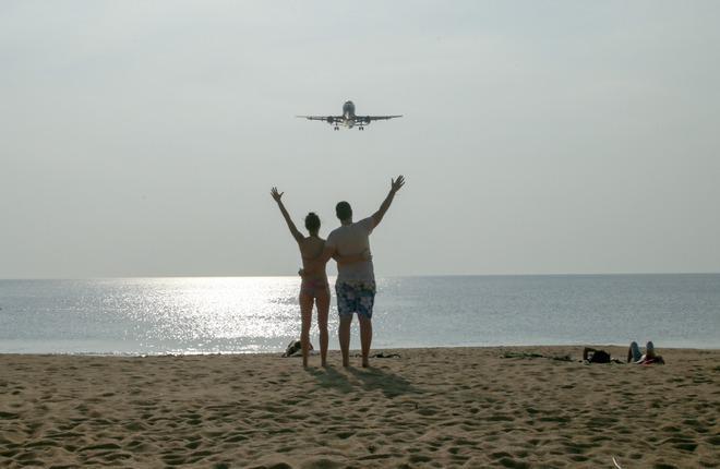 Кризис авиаперевозок российским курортам не помеха (Леонид Фаерберг / Transport-Photo.com)