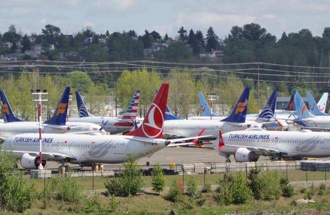 Непоставленные самолеты Boeing 737MAX