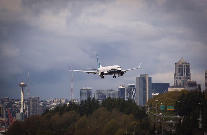 Одной из премьер уходящей недели стал первый полет ремоторизованного самолета Boeing 737MAX-9 :: Boeing