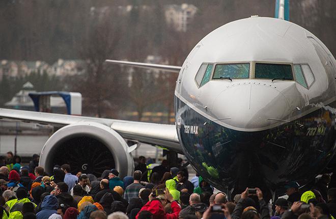 Одним из самых громких событий недели стала выкатка ремоторизованного самолета Boeing 737MAX-9 :: Boeing