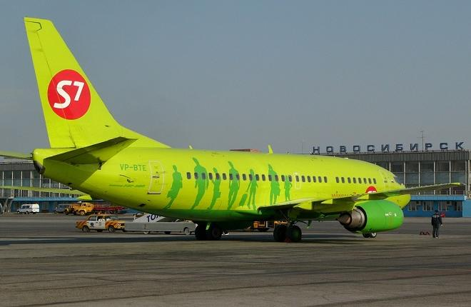 Самолет Boeing 737-500 S7 Airlines