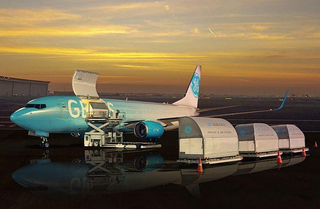 конвертированный грузовой самолет Boeing 737-800BCF