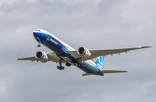 Второй прототип самолета Boeing 777X