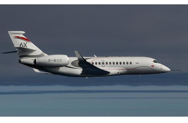 10 марта 2021 г. состоялся первый полет бизнес-джета Dassault Falcon 6X