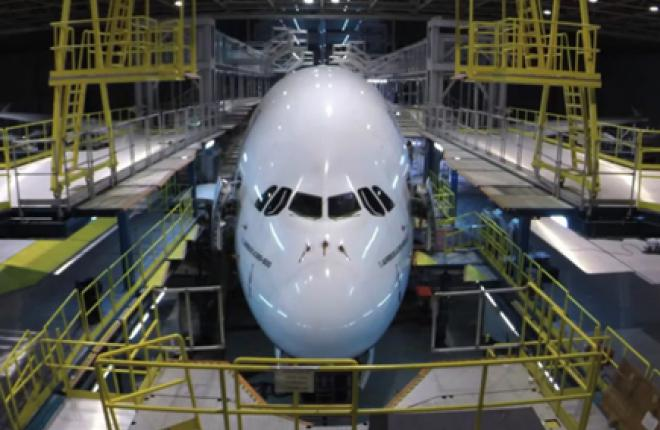 Авиакомпания Emirates впервые провела 3C-check самолета Airbus A380