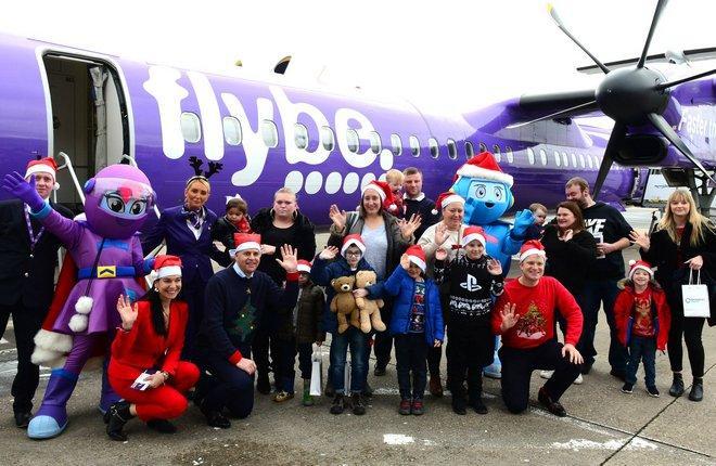 Благотворительная акция авиакомпания Flybe для пациентов детского хосписа
