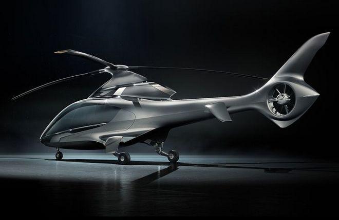 проект вертолета HX50 компании Hill Helicopters