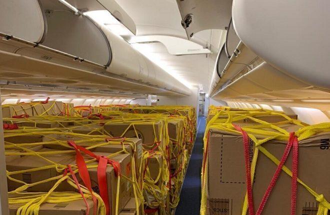салон прейтера авиакомпании Iberia