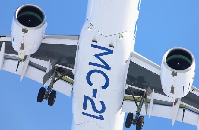 Для самолета МС-21 нашли провайдера услуг по техобслуживанию :: Александр Мишин / Transport-Photo.com