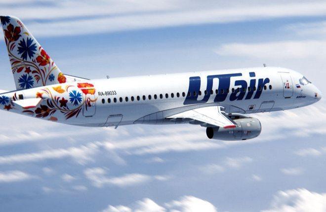 """Самолет Superjet 100 в раскраске """"ЮТэйр"""" мы видели четыре года назад :: www.superjetinternational.com"""