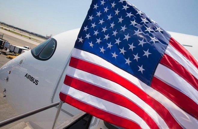 самолет Airbus в США
