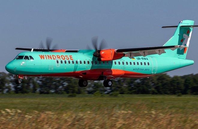 Украинская WindRose приступила к эксплуатации пока единственного на Украине турбовинтового ATR 72-600 (WindRose)