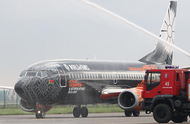 Одно из главных событий прошедшей недели — начало коммерческих пассажирских полетов в подмосковный аэропорт Жуковский :: Александр Мишин // transport-photo.com