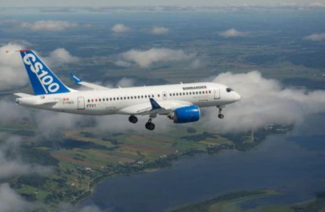 Испытания самолета Bombardier CSeries продолжаются