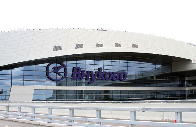 Аэропорт Внуково фасад