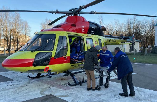 Вертолет национальной службы санитарной авиации (НССА)