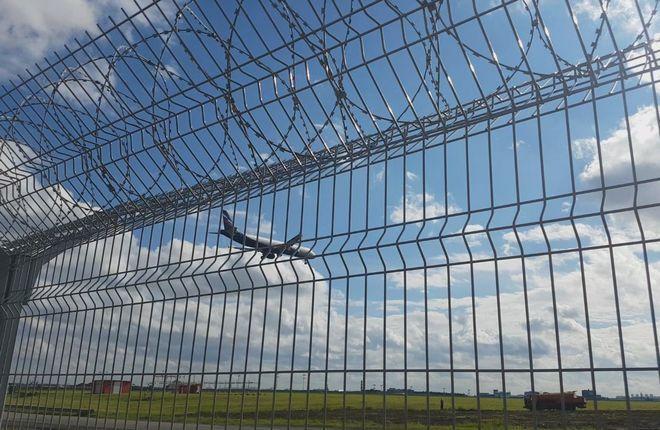 Периметровое ограждение аэропорта Шереметьево