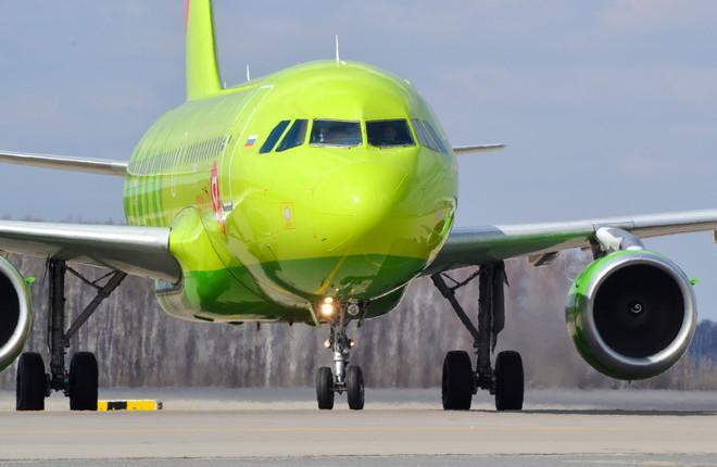 Самолет A319 авиакомпании S7