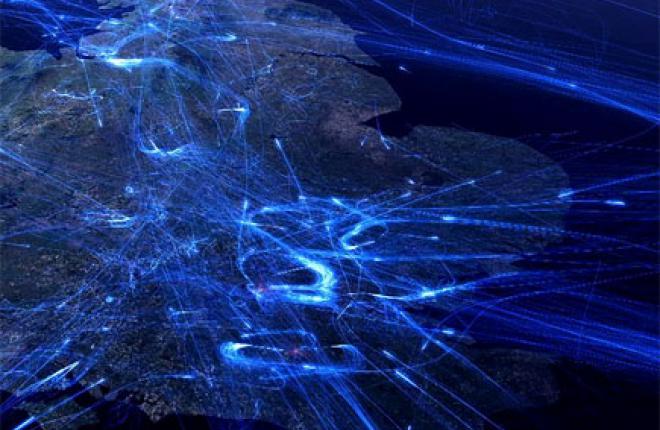 30 тысяч авиарейсов в сутки над Европой