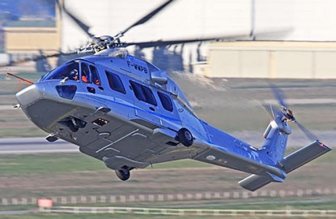 Вертолет для нефтяников
