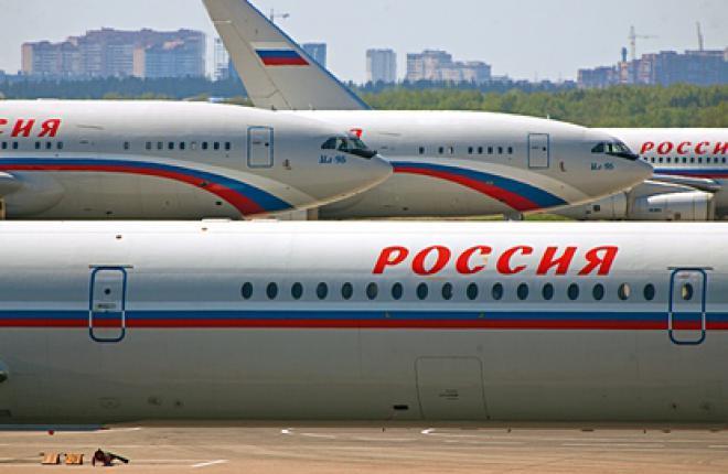 Производственные показатели гражданской авиации России за 2010 г.
