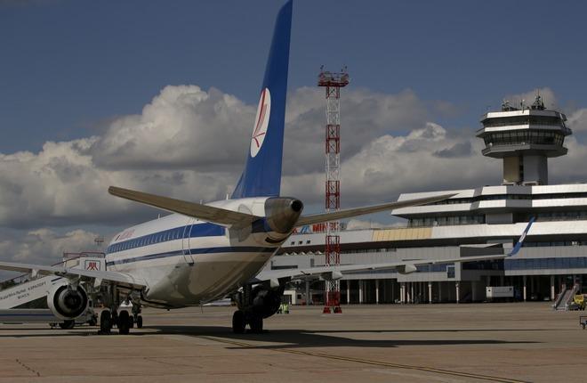 Hациональный аэропорт Минск