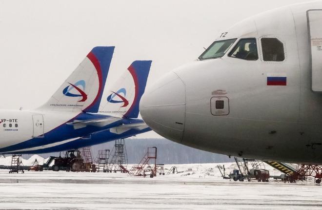 """Флот A320 """"Уральских авиалиний"""""""