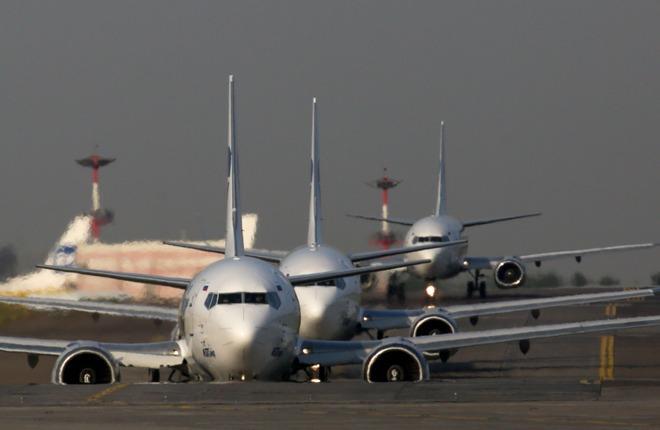 """Boeing 737 авиакомпании """"ЮТэйр"""""""