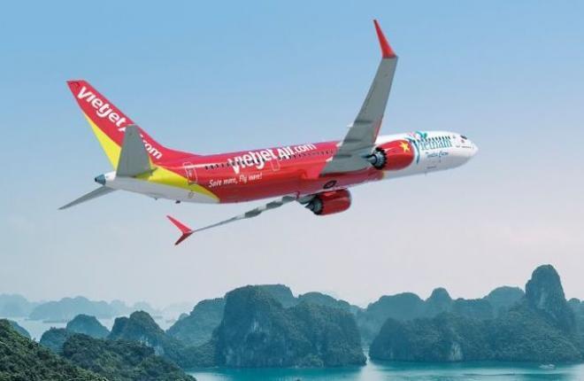 Boeing 737MAX авиакомпании VietJet