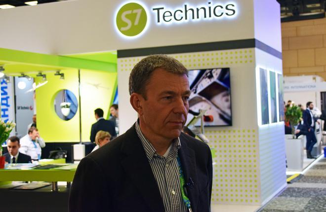 Гендиректор S7 Technics Владимир Перекрестов
