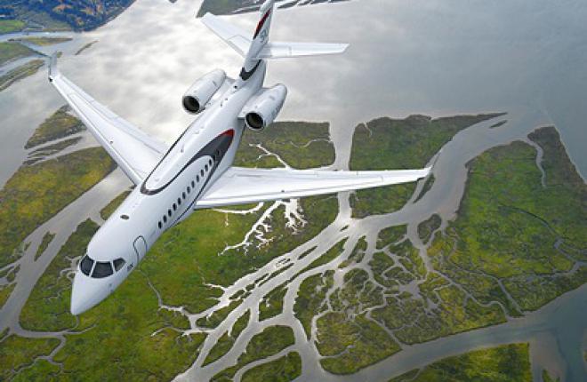 Dassault представляет: Falcon 5X