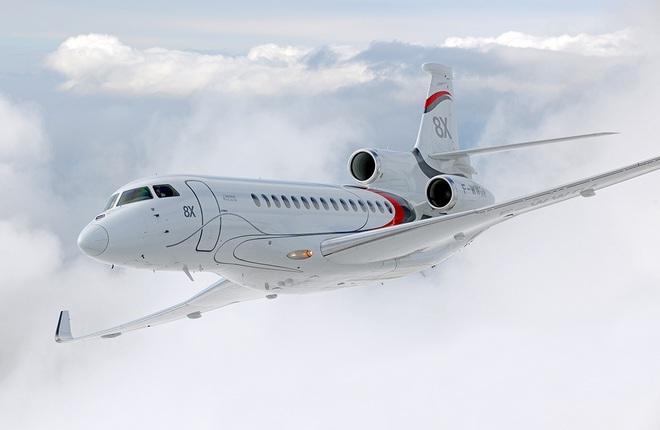 Российский деловой оператор Chess Aviation Club получил Falcon 8X
