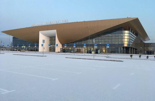 Новый терминал аэропорта Большое Савино