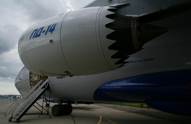 Двигатель ПД-14 уже летал на летающей лаборатории Ил-76ЛЛ