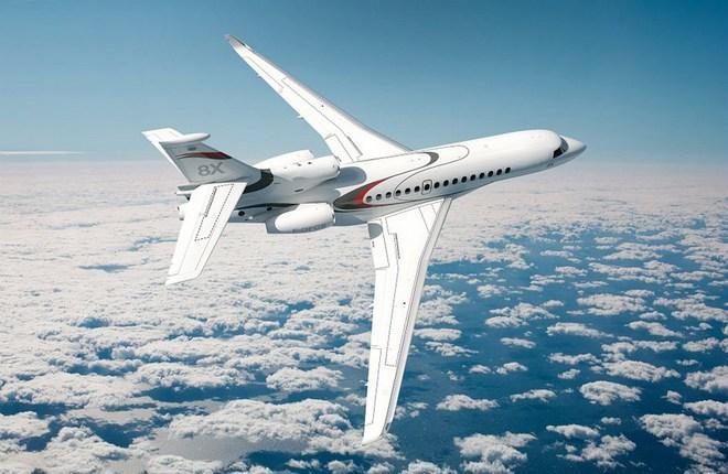 Dassault Aviation увеличила поставки бизнес-джетов