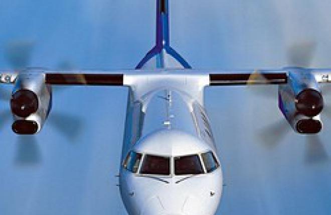 Региональный турбовинтовой самолет Q400
