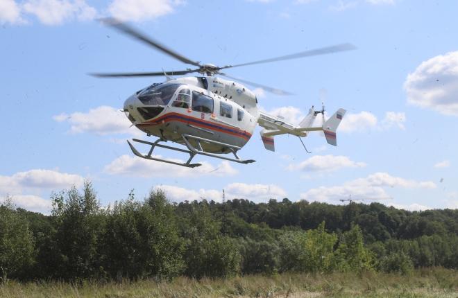 Санитарный вертолет МАЦ