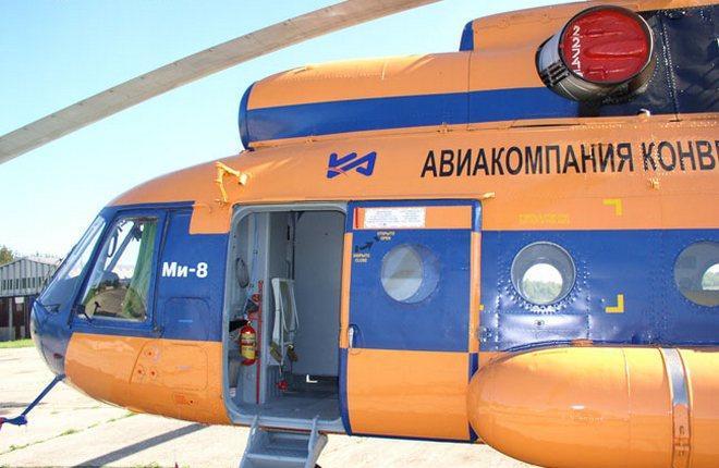 """Вертолет Ми-8 авиакомпании """"Конверс Авиа"""""""