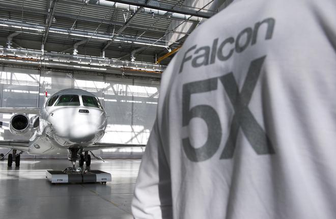Falcon 5X испортил статистику заказов на бизнес-джеты Dassault