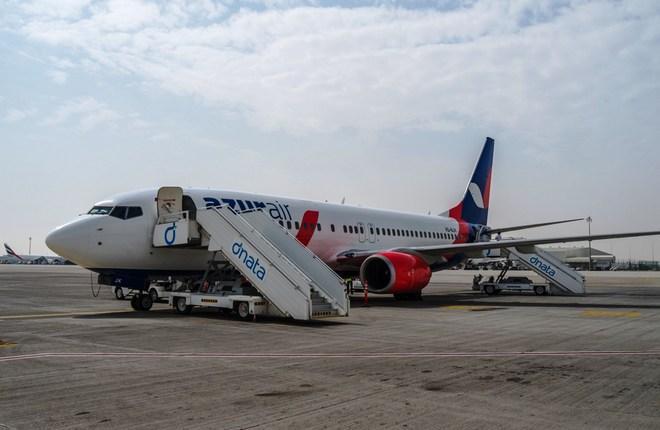 Azur Air приняла пятый самолет Boeing 737-800