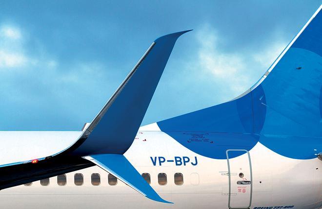"""У """"Победы"""", как ожидается, будет 18 Boeing 737-800, оснащенных сопряженными законцовками крыла // Фото: Кирилл Скурихин"""