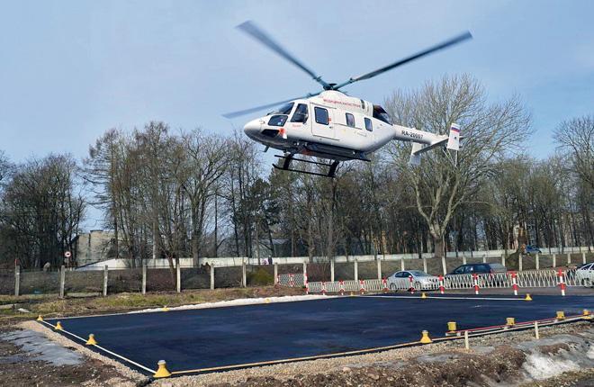 В этом году вертолеты службы Helimed эвакуировали 130 пациентов в трех российских регионах :: РВС