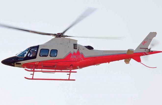 Отличительная визуальная черта AW109 Trekker — полозковое шасси :: Leonardo Helicopters