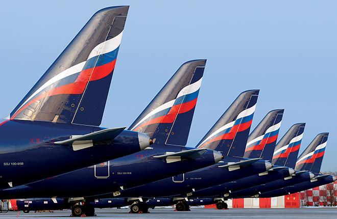 По состоянию на середину 2018 года в эксплуатации находилось 130 самолетов SSJ 100 :: Артем Аникеев // Transport-Photo.com