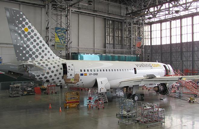 самолет A319