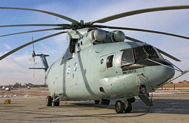 Russian Helicopters hopes to offer improved Mi-26T2