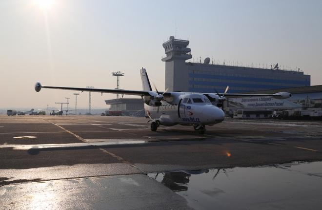 В Хабаровском крае приостановили полеты L-410